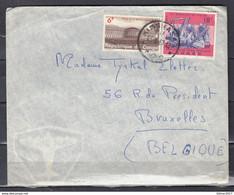 Brief Van Kinshasa Naar Bruxelles (Belgique) - Brieven