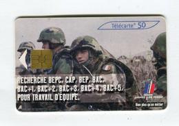Telecarte 50u °_ 1271-Armée De Terre-Gem2-03.03-8690 Serré- R/V - 50 Unità
