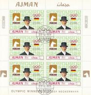 AJMAN 451,used Sheet - Estate 1968: Messico