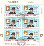AJMAN 452,used Sheet - Estate 1968: Messico