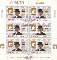 AJMAN 453,used Sheet - Estate 1968: Messico