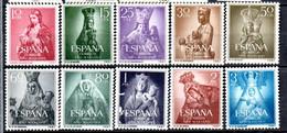 Y-1  Espagne N° 843 à 842 ** à 10 % De La Côte. A Saisir !!! - 1951-60 Neufs