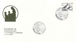 Iceland Cover 1981 Gardabær Gardar 81 (DD32-10) - Lettres & Documents