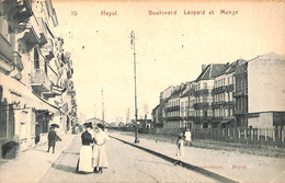 Heist - Heyst - Boulevard Léopold Et  Mengé (animée Edit Timmerman 1910) - Heist