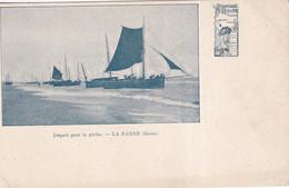 DE PANNE  DEPART POUR LA PECHE - De Panne