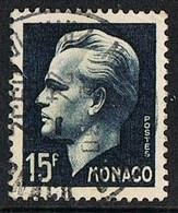 1951 - MONACO - INCORONAZIONE DI RANIERI III / CORONATION OF RANIERI III - USATO / USED. - Gebruikt