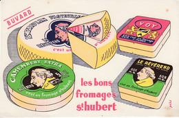BUVARD -  Les Bons Fromages Saint Hubert - Nancy - Le Révérend - Voy - Ohne Zuordnung