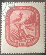 Roumanie Romania 1955 Villageois Villager Yvert 1372 - Gebraucht