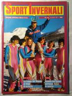 Sport Invernali 1 1986 Marciandi Zini Lucco Brighetti Magoni Quario Erlacher Girardelli Zurbriggen Wasmeier Wirnsberger - Sport