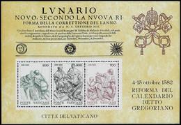 Vatikan 1982,Michel# Block 4 **  4th Centenary Of The Reform Of The Gregorian Calendar - Nuovi
