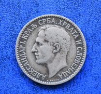 YUGOSLAVIA KingAlexander I (1921-1929) 1 DINAR - Yugoslavia
