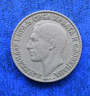 YUGOSLAVIA KingAlexander I (1921-1929) 2 DINARA - Yugoslavia