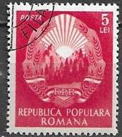 Rumänien 1952, Michel-Nr. 1384 Gestempelt / Used - Gebraucht