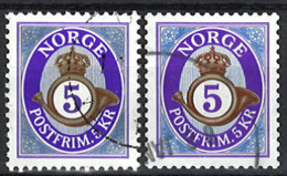 Norwegen Norway 2014. Mi.Nr. 1864 A + 1864 C, Used O - Usados