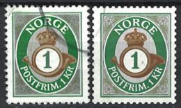Norwegen Norway 2015. Mi.Nr. 1873 A + 1873 C, Used O - Usados
