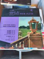 DISQUE VINYLE 33T INTEGRALE DES SONATES POUR FLUTE. - J.-S. BACH - Classica