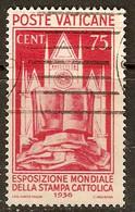 VATICANO - Sassone # 51 - (o) - Prima Scelta - Oblitérés