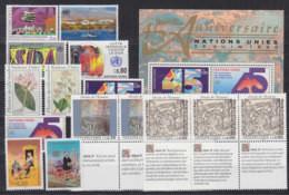 UNO GENF Jahrgang 1990, Postfrisch **, Komplett Mi. 182-193 - Ungebraucht