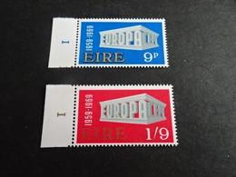 EU1790A - Set With Numbered Tabs   MNh Ireland  1969 - CEPT - Europa - Nuovi