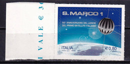 Italy 2014 Space Satellite San Marco 1 1v MNH - Europa
