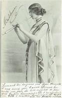 Femme. Artiste : Cléo De Mérode. Ajouts De Paillettes. - Entertainers