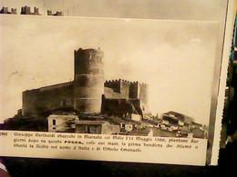 SALEMI TRAPANI TORRE DOVE GARIBALDI SVENTOLO Bandiera E CHIAMO A LIBERTA LA SICILIA VB1912 IG10491 - Trapani