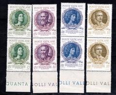 Vaticano (1943) - Accademia Dei Virtuosi, In Coppie ** - Neufs