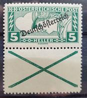 """Österreich 1919, Mi 253 Mit Andreaskreuz """"Eilmarke"""" MNH Postfrisch - Ongebruikt"""