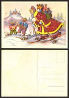 Christmas Santa Claus Pigs  #16584 - Santa Claus