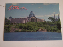 CPA Canada Ontario Ottawa Musée Des Beaux-Arts Du Canada Et Basilique Notre-Dame - Ottawa