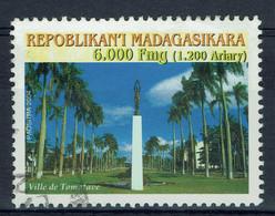 Madagascar, 6000 Fmg, Ville De Tamatave, 2004, Obl, TB - Madagascar (1960-...)