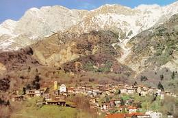Cartolina - Poffabro ( PN ) - Friuli - Panorama Con Il Monte Raut - 2018 - Pordenone