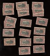 20 X. 69.(*) Tous Sans Colle. Cote Neuf * 12,-€  Soit 240-euros - 1894-1923 Mols: Ungebraucht