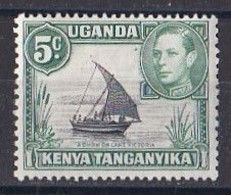 Uganda    N ° 53  Neuf ** - East Africa & Uganda Protectorates