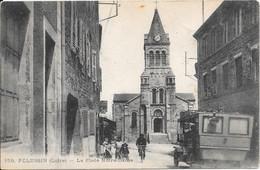 PELUSSIN - La Place Notre Dame - Pelussin