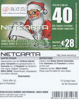 GREECE - Christmas 2002, Netcarta, ACN Internet Prepaid Card 28 Euro, Tirage 1000, 11/02, Sample - Natale