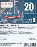 GREECE - Christmas 2002, Netcarta, ACN Internet Prepaid Card 15 Euro, Tirage 5000, 11/02, Sample - Natale