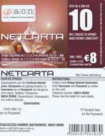 GREECE - Christmas 2002, Netcarta, ACN Internet Prepaid Card 8 Euro, Tirage 15000, 11/02, Sample - Natale