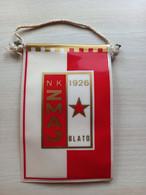 # 21 CROATIA Flag (Pennant Banderín) NK ZMAJ BLATO,KORČULA - Abbigliamento, Souvenirs & Varie