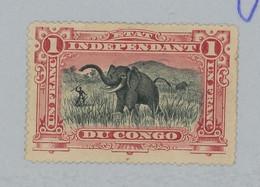 Le Bon 1F Elephant 26* Est Regommé. Cote * 525,-€ - 1894-1923 Mols: Ungebraucht