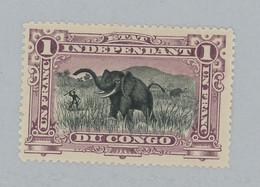 1F Elephant 26A * Lilas.   Cote * 38,-€ - 1894-1923 Mols: Ungebraucht