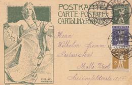 Schweiz Postkarte 1909 - Ohne Zuordnung