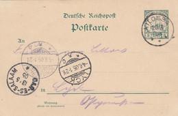 Deutsches Reich DOA Postkarte 1905 - Colony: German East Africa