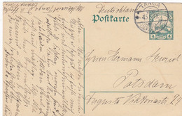 Deutsches Reich DOA Postkarte 1913 - Colony: German East Africa