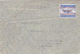 Deutsches Reich Feldpost Luftpost Brief 1944 Inselnpost Kreta - Covers & Documents