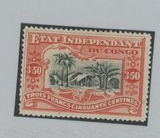 27*. 3,50F    Cote * 260,-€ - 1894-1923 Mols: Ungebraucht
