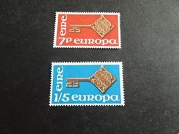 EU1817  - Set MNh Ireland  1968 - CEPT - Europa - Nuovi