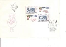 Timbres Sur Timbres ( FDC De Hongrie De 1965 à Voir) - Francobolli Su Francobolli