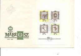 Timbres Sur Timbres ( FDC De Hongrie De 1962  à Voir) - Francobolli Su Francobolli