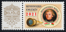 TELESCOPE OPTICS Maurice Benyovszky Soldier - World Expedition  Personalized LABEL VIGNETTE 2021 Hungary Poland Slovakia - Fisica